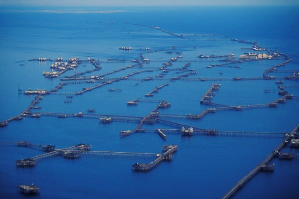 Neft Daşları, a Sprawling City on the Sea