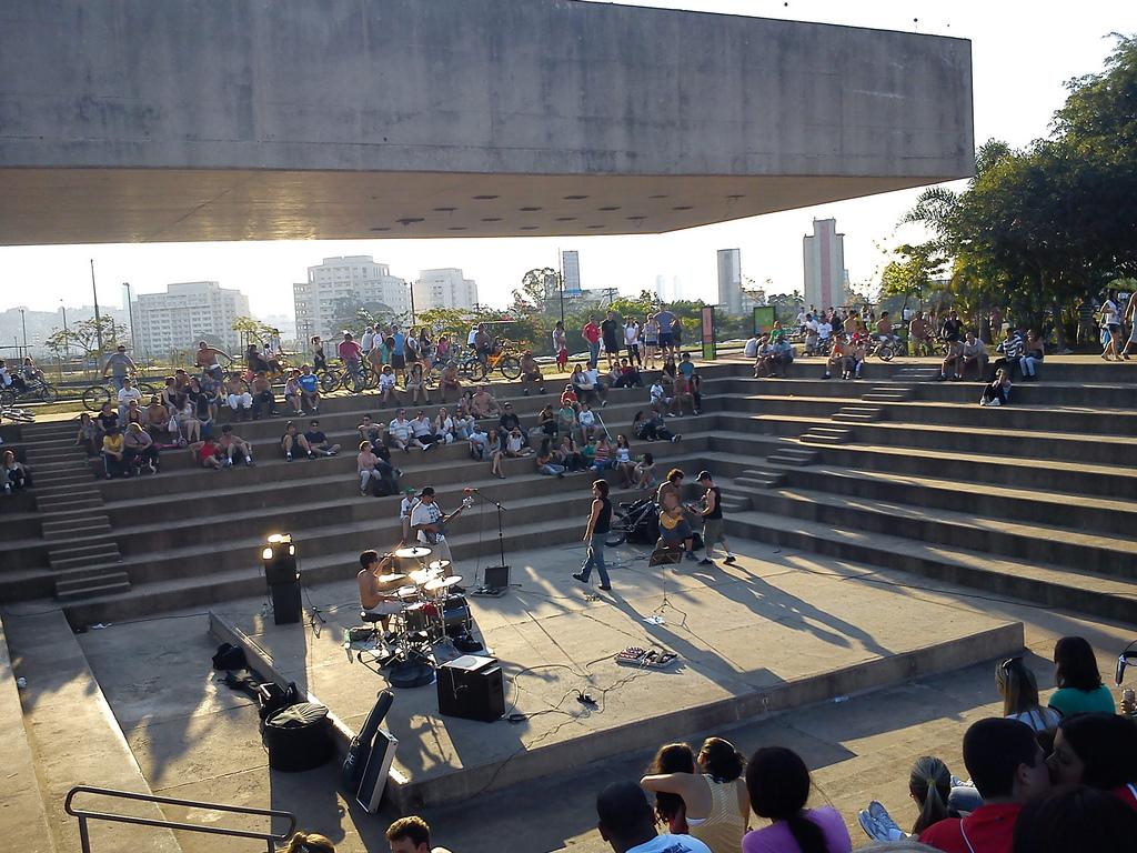 Ilha Musical Sao Paulo Decio Tozzi Parque Villa-Lobos