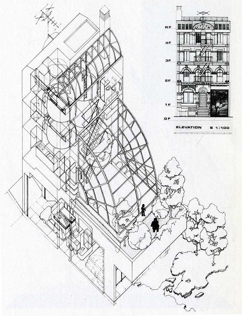 Masanori Kei. Japan Architect 53 Feb 1978, 47