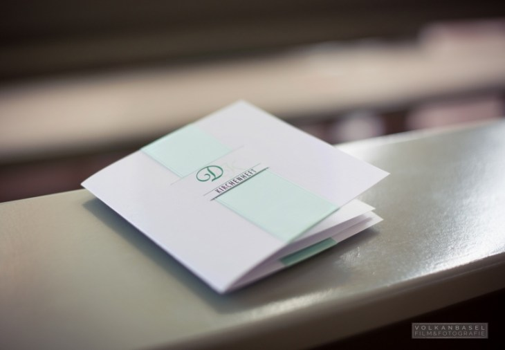11 Kirchenheft individuell Hochzeit Leinefelde