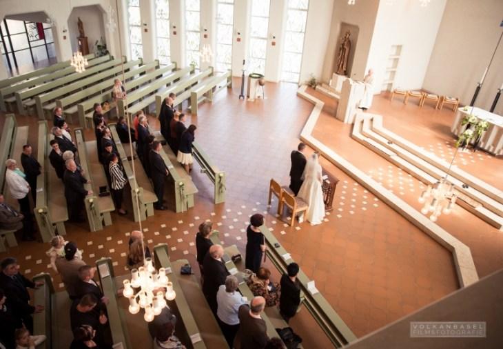 Die Bonifatiuskirche ist definitiv auch für große Hochzeitsgesellschaften geeignet.