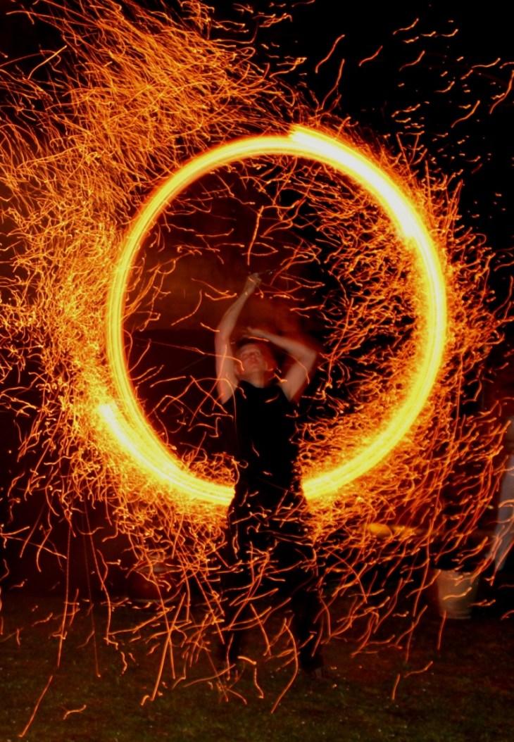 Feuervariete Feuershow Cedrus Inflamnia Hochzeit 3