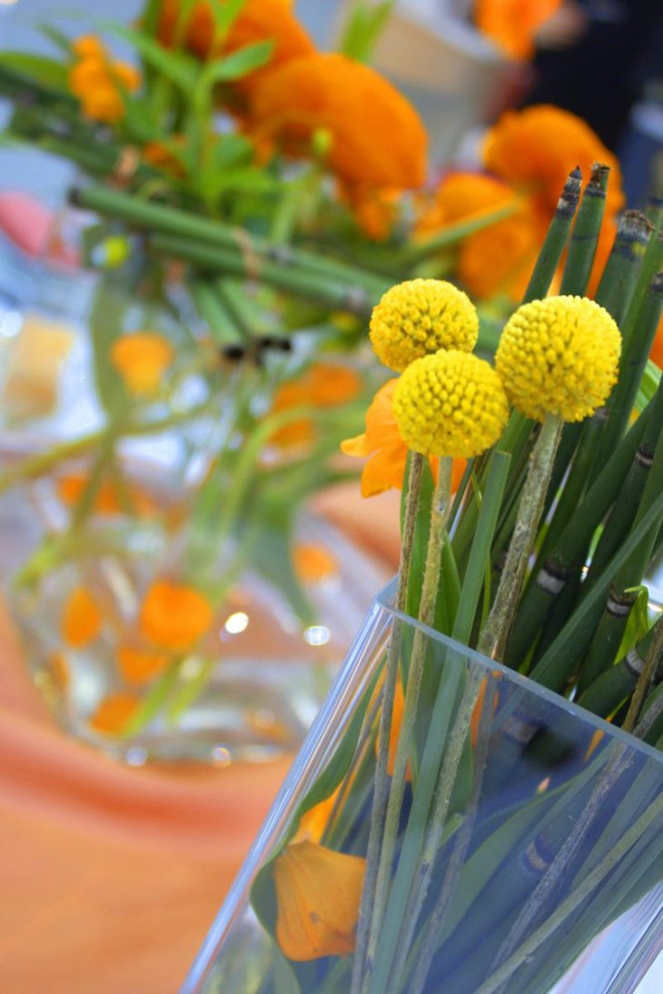 gelb orange Göttinger Hochzeitsmesse 2016