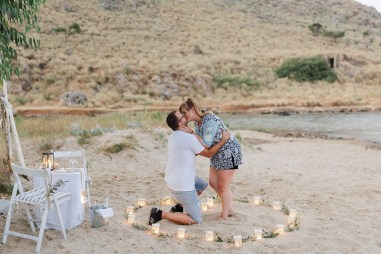 Heiratsantrag Kreta Marriage Proposal Crete Wedding Planner Hochzeitsplaner Strand Beach Georgioupoli.