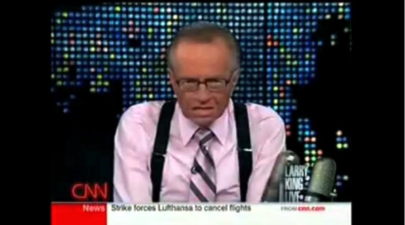 Larry King se hace eco de los peligros de la telefonía móvil