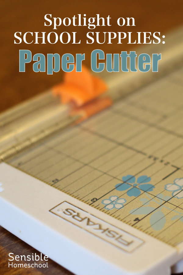 Spotlight on School Supplies: Paper Cutter