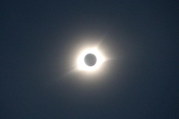 Photo of full Solar Eclipse 2017