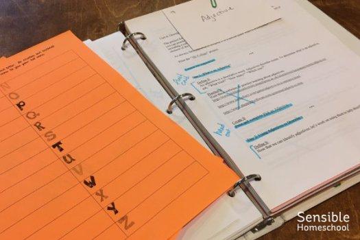 Schoolhouse Teachers Little Language Arts teacher's binder