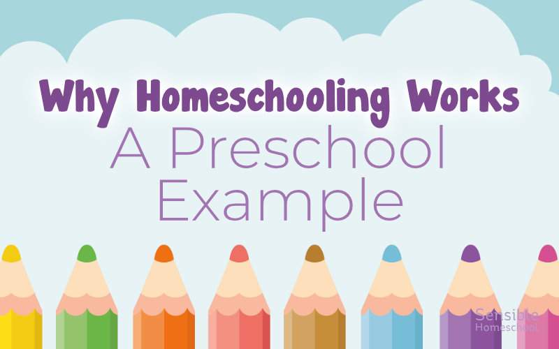 Why Homeschooling Works - A Preschool Example