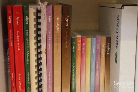 Math-U-See homeschool math curriculum books