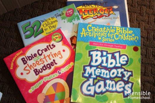 Homeschool Bible activity resources