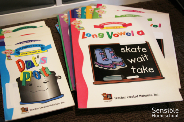 Teacher Created Materials, Inc. Easy Phonics curriculum