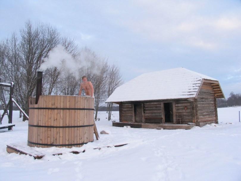 Smoke Sauna, Võru County, Estonia