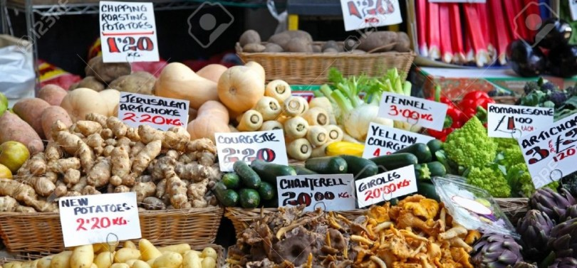Mercati contadini a Londra: ma dove si trovano le bietole?