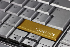 Computer key gold - Cyber Sex