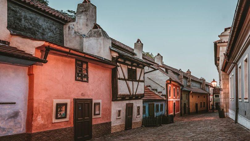Praga: anima verde e magica- Vicolo oro
