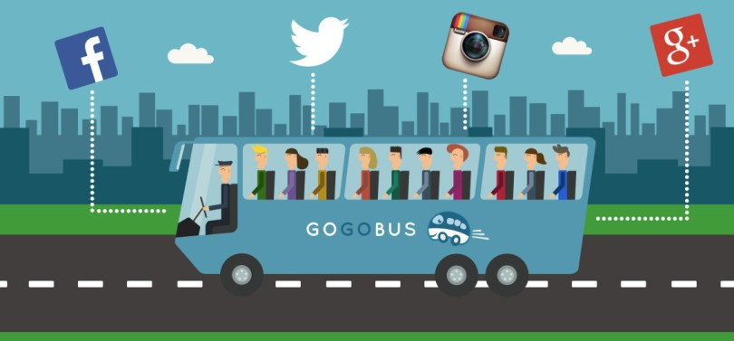 Gogobus social bus sharing