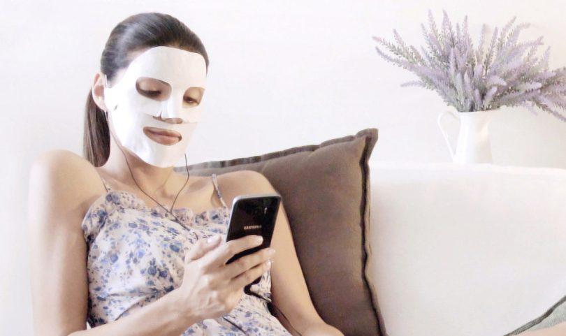 Play Skin: la maschera di bellezza con lo smartphone
