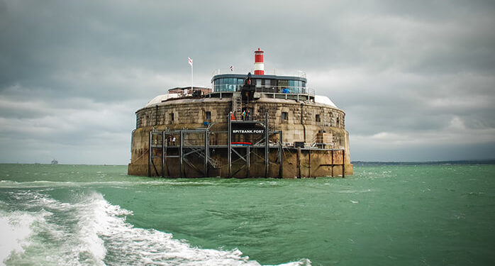 Spitbank Fort hotel a Portsmouth