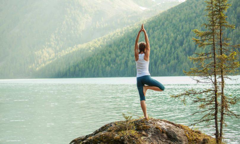 Yoga E Montagna Perfetto Binomio Benessere