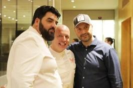 Antonino Cannavacciuolo, Roberto Conti, Joe Bastianich