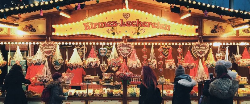 Berlino-mercatini artigianato -Natale