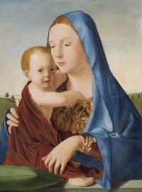 id 043. Antonello da Messina Madonna col Bambino National Gallery of Art Washington