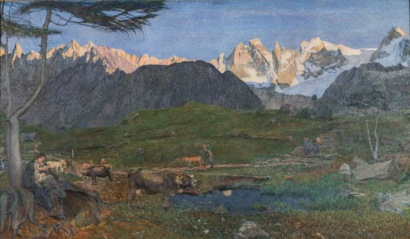 Hodler Segantini Giacometti. Capolavori della Fondazione Gottfried Keller