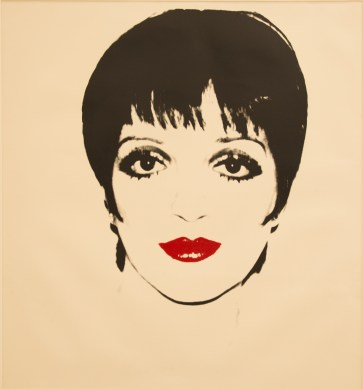 5_Liza Minelli, 1978, Screenprint on paper, 121.9x111.7cm