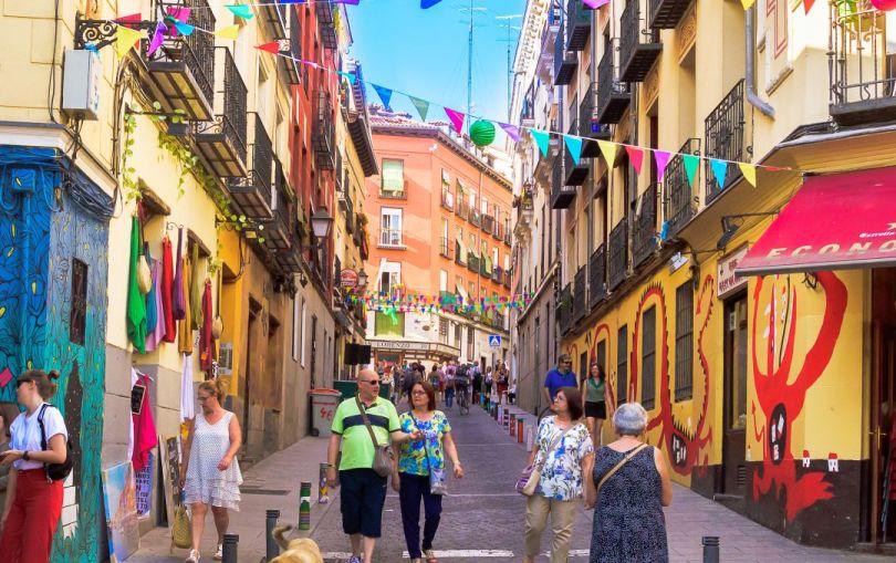 Barrio Embajadores-Madrid