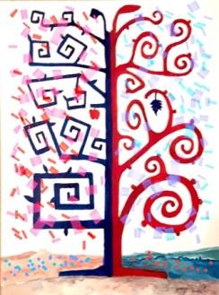 Marcello Sèstito_Omaggio all'albero della vita di Klimt_2019