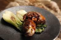 FAFNIR coda di bue italiano in salsa speziata con brassica brasata