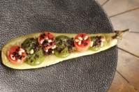 GJUKUNGAR Melanzana arrostita, tartare di pomodoro, pinoli, terra di olive e spuma di basilico