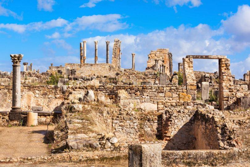 sito archeologico Volubilis - Meknes- Le città imperiali in Marocco, là dove il tempo si è fermato
