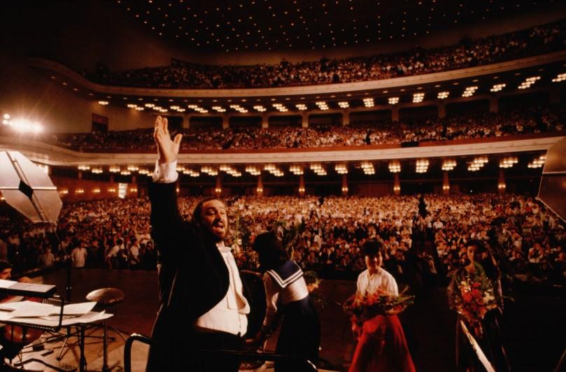 Pavarotti celebrato da Ron Howard in un docu-film