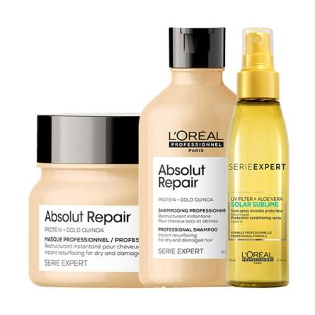 kit-serie-expert-absolut-repair-shampoo-300ml-maschera-250ml-omaggio-spray-solar-sublime-125ml-loreal