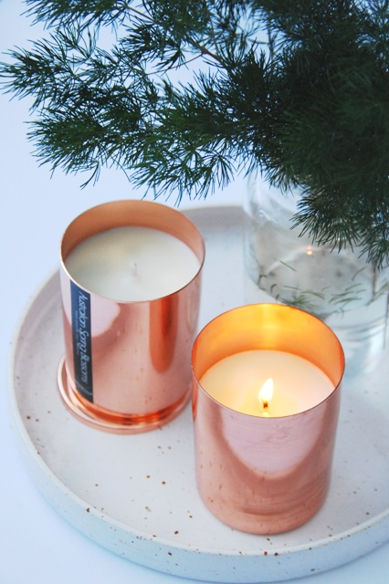 Copper Soy Candles