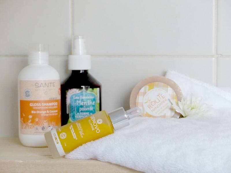 Routine cosmétiques bio et naturels