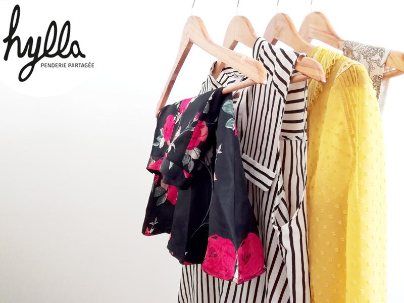 Hylla - penderie partagée - location de vêtements