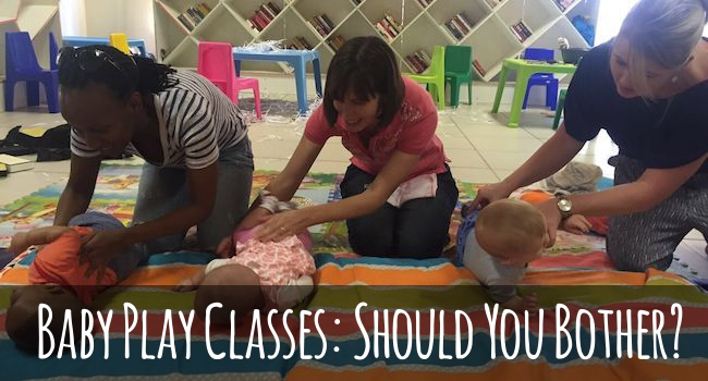 join a baby play group or class