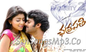 prabhas chathrapathi mp3 songs