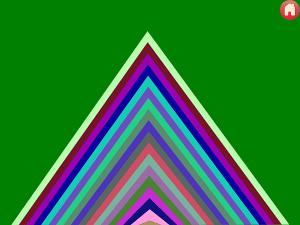 Triangle Speak Up pattern