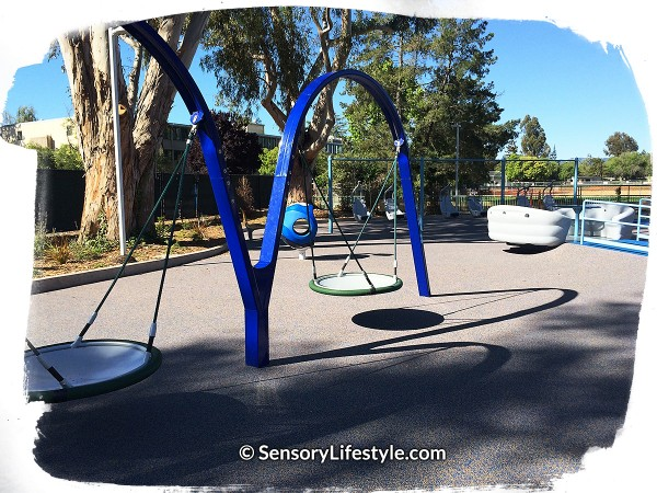 Magical Bridge Playground ~ Swinging & Swaying Zone