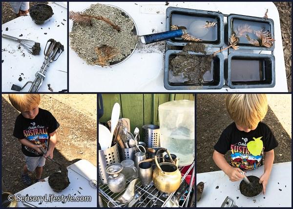 Mud Kitchen Fun