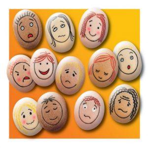 emotions stones