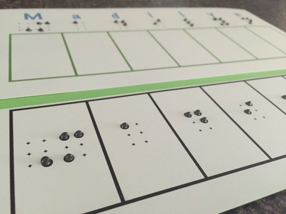 Interactive Number Lines For Solving Math Problems For Blind Students