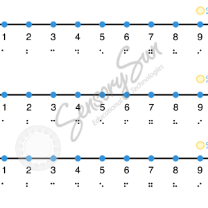 image preview of number lines file