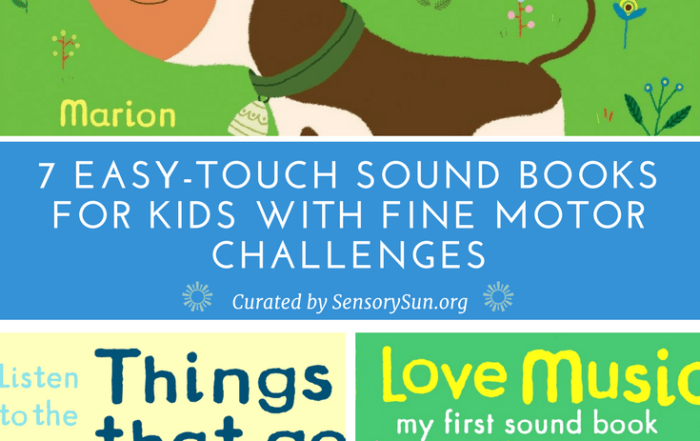 easy touch sound books for blind kids