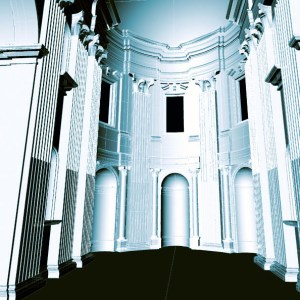 Cathedral interior modelling