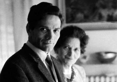 Pier Paolo e Susanna Pasolini